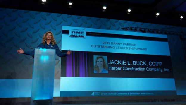 Jackie Buck CFMA 2015 Award for Excellence in Leadership